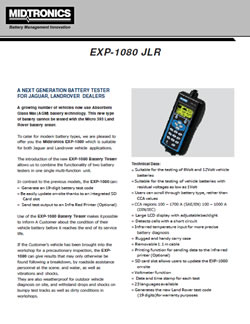 EXP 1080 JLR Brochure